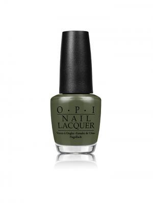 Opi Лак для ногтей Suzi The First Lady Of Nails, 15 мл. Цвет: оливковый