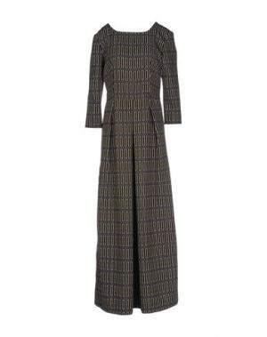 Длинное платье GARAGE NOUVEAU. Цвет: черный