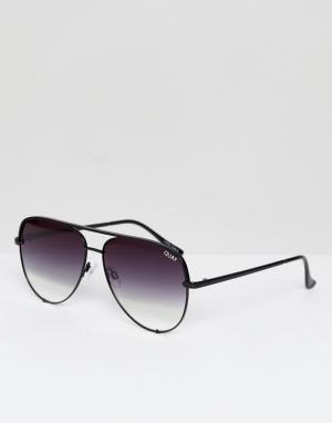 Quay Australia Солнцезащитные очки с черными стеклами деграде X Desi H. Цвет: черный