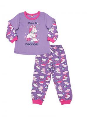 Пижама Cherubino. Цвет: сиреневый