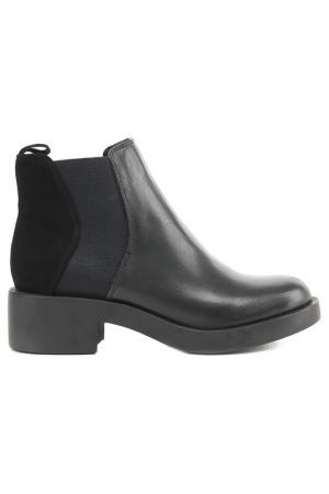Ботинки Melani. Цвет: черный