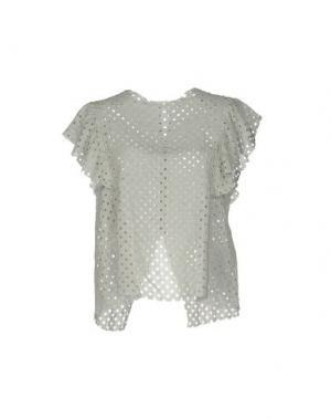 Блузка INTROPIA. Цвет: серый