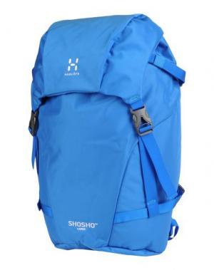 Рюкзаки и сумки на пояс HAGLÖFS. Цвет: лазурный