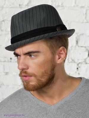 Шляпа Goorin Brothers. Цвет: серый (осн.)