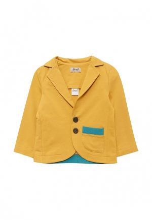Пиджак Ёмаё. Цвет: желтый