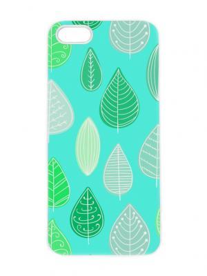 Чехол для iPhone 5/5s Мятный лес Chocopony. Цвет: белый, черный