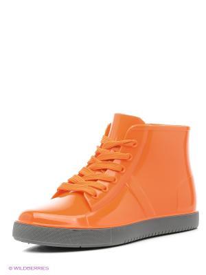 Кеды KEDDO. Цвет: оранжевый