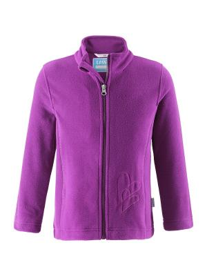 Куртка флисовая Lassie by Reima. Цвет: фиолетовый