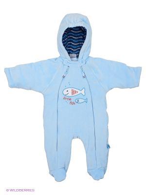 Комбинезон Baby Club. Цвет: голубой