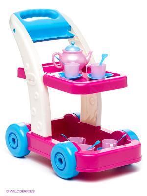 Сервировочный столик Принцесса FARO. Цвет: лиловый, голубой