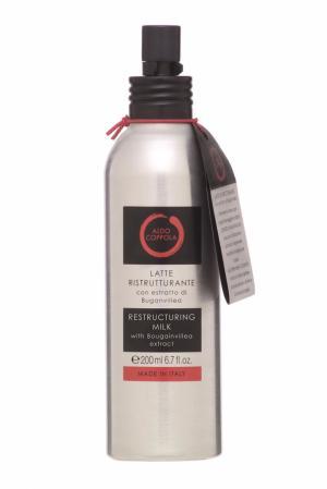 Молочко-спрей для волос с экстрактом бугенвиллеи Restructuring Milk, 200ml Aldo Coppola. Цвет: multicolor