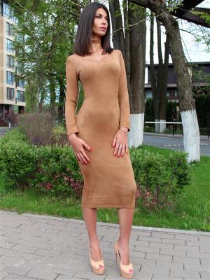 Платье из замши с чокером Seven Devils