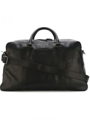 Дорожная сумка Shinola. Цвет: чёрный