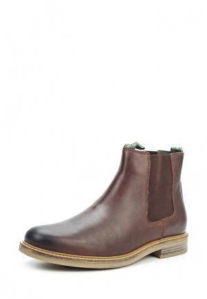 Ботинки Barbour. Цвет: коричневый