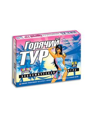 Горячий тур настольно-печатная игра TopGame. Цвет: синий, белый, красный