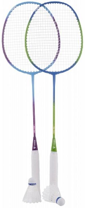 Набор для бадминтона  (2 ракетки, 2 волана, чехол) Torneo