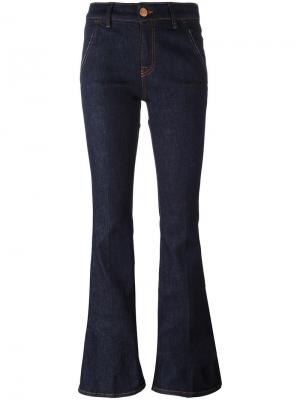 Расклешенные джинсы  Dont Cry Don't. Цвет: синий