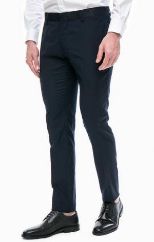 Синие зауженные брюки Antony Morato. Цвет: синий