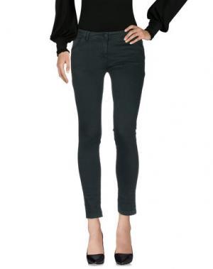 Повседневные брюки ANIYE BY. Цвет: темно-зеленый