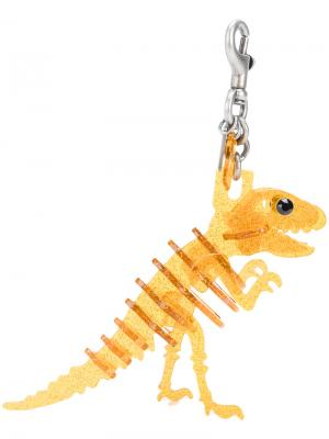 Подвеска на сумку Rexy Coach. Цвет: жёлтый и оранжевый