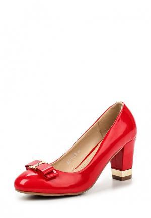 Туфли Guapissima. Цвет: красный