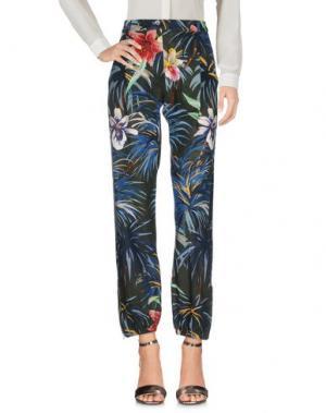 Повседневные брюки BAGUTTA. Цвет: темно-зеленый