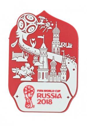 Магнит 2018 FIFA World Cup Russia™. Цвет: красный