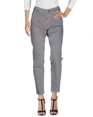 Джинсовые брюки WINDSOR.. Цвет: серый