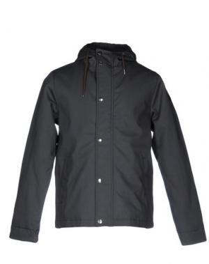 Куртка RVLT/REVOLUTION. Цвет: свинцово-серый
