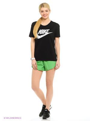 Шорты MODERN EMBOSSED TEMPO SHORT Nike. Цвет: зеленый