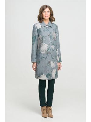 Пальто Modern. Цвет: серый