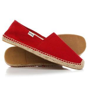 Эспадрильи  Original Dali Real Red Soludos. Цвет: красный