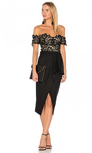 Платье tango Elle Zeitoune. Цвет: черный