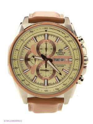 Часы EDIFICE EFR-549L-7A CASIO. Цвет: темно-коричневый