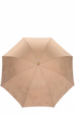 Зонт-трость Pasotti Ombrelli. Цвет: бежевый