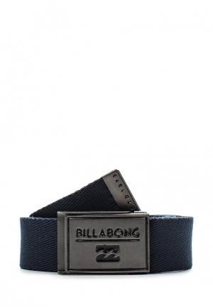 Ремень Billabong. Цвет: синий