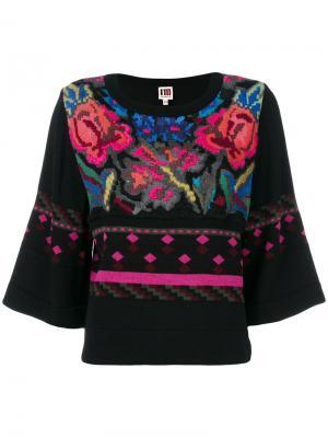 Джемпер с цветочным узором  IM Isola Marras I'M. Цвет: многоцветный