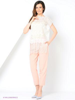 Блузка Migura. Цвет: белый