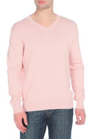 Пуловер Ballantyne. Цвет: светло-розовый