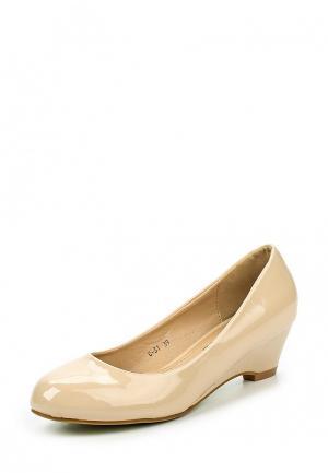 Туфли Style Shoes. Цвет: бежевый