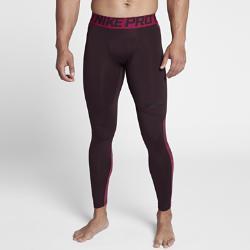 Мужские тайтсы для тренинга  Pro HyperWarm Nike. Цвет: пурпурный