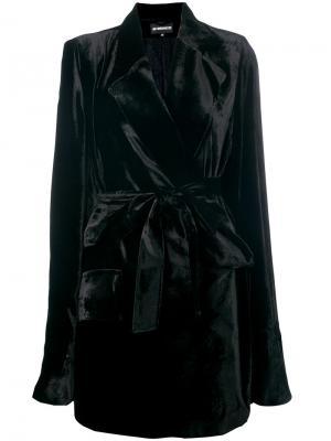 Пальто Ann Demeulemeester. Цвет: чёрный