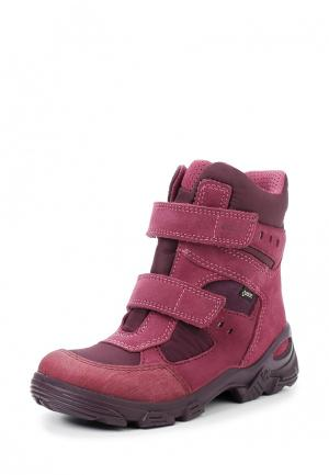 Ботинки SNOWBOARDER ECCO. Цвет: бордовый