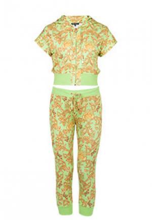 Спортивный костюм VERSACE. Цвет: зеленый