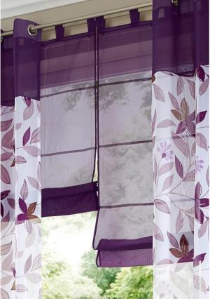 Римская штора Pecetto MY HOME. Цвет: фиолетовый
