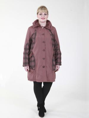 Куртка Бритни VIKO. Цвет: бледно-розовый