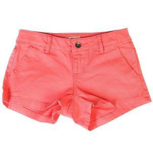Шорты джинсовые детские  Sunsetclouds Sugar Coral Roxy. Цвет: розовый