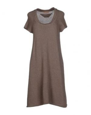 Короткое платье ALMERIA. Цвет: хаки