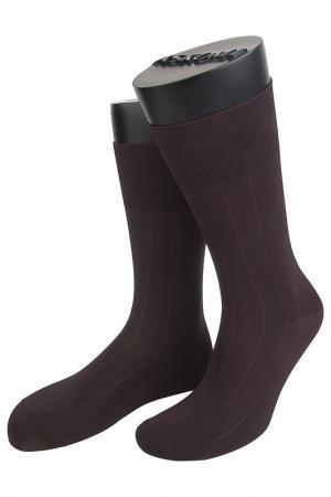 Носки ASKOMI. Цвет: коричневый