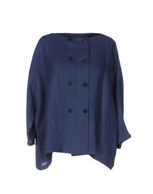 Пиджак A.B APUNTOB. Цвет: грифельно-синий